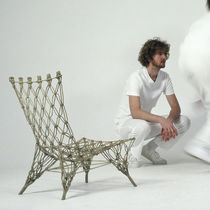 original design fireside chair KNOTTED by M. Wanders Droog