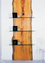 original design glass and wood shelf 0007 JOHN HOUSHMAND