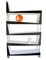 original design lacquered shelf ROCK & ROLL SISKÔ DESIGN