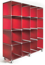 original design plastic modular shelf MM 38X38X38 Estoli