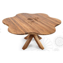 original design round wooden table DAISY: RNM 250I by Salih Teskeredzic  rukotvorine