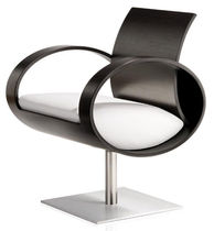 original design swivel armchair SATELLITE P PSM
