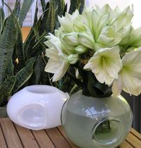 original design vase (blown glass) AQUA jGoodDesign