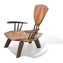 original design wood armchair DROP Peter Hook