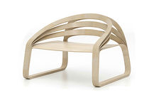 original design wood armchair PLOOOP Timothy-Schreiber