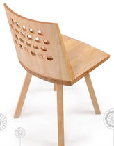original design wood chair WAVE: RNM 257W by Salih Teskeredzic rukotvorine