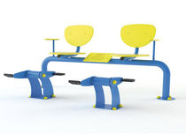 outdoor bench with pedals MF-001 VIMALTO