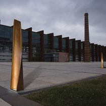 outdoor bollard light for public spaces (LED) BELT by Aia Sal azar-Navarro B.LUX