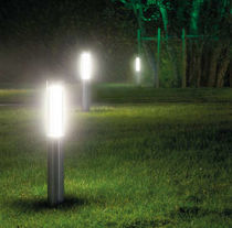 outdoor bollard light for public spaces (fluorescent) TOTEM: 76595 by G. Arcesilai & R. Tedeschi MARTINI Illuminazione