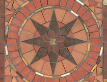 outdoor ceramic floor tile ROSONE DI-TUSCANIA COTTO IMPRUNETA
