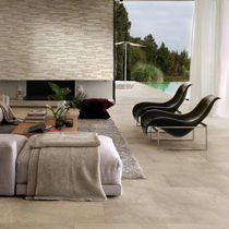 outdoor ceramic floor tile (stone look) STONETRACK CERAMICHE SUPERGRES