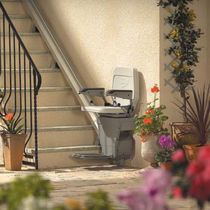 outdoor chair stair lift OUTDOOR Stannah Stairlifts