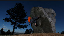 outdoor climbing boulder REALROCK&acirc;&cent; Eldorado Climbing Walls