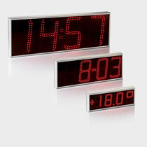 outdoor electronic display panel (single-line) GORGEOUS CLOCK Sakma Electrónica Industrial