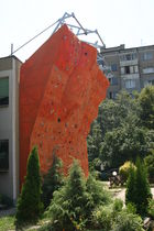 outdoor fixed climbing wall  Walltopia