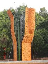 outdoor fixed climbing wall CLIMBING TOWERS Walltopia