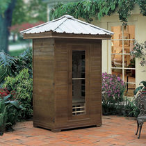 outdoor infrared sauna FIR - 611 Guangzhou J&J Sanitary Ware