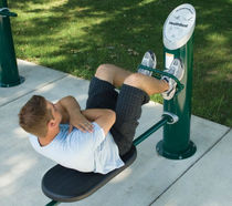 outdoor leg press HEALTHBEAT® : #161314A-B LANDSCAPE STRUCTURES
