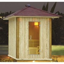 outdoor sauna NYS-482 Sauna King
