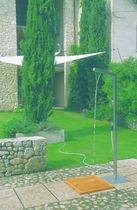 outdoor shower DOCCIA by Adalberto Mestre DIMENSIONE DISEGNO
