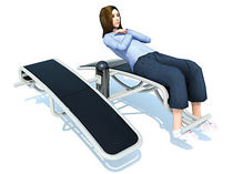 outdoor sit-up bench FS004N Record RSS