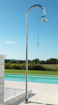 outdoor stainless steel shower ORIGO: C50 T Fontealta