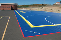 outdoor synthetic sports floor PATMOS  Sports Partner Floor