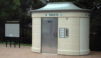 outdoor toilet for public spaces SANIVILLE Aluline