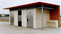 outdoor toilet for public spaces SANICABINE 445 Aluline