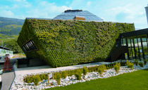 outdoor green wall WALL GARDEN Optigreen