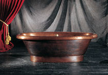 oval copper bath-tub LINE AGO
