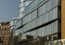 panel curtain wall (metal and glass) 122 GREENWICH McMullen Architectural Systems Ltd.