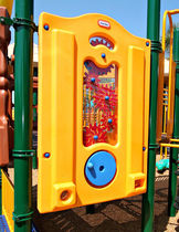 panel for fun activities SEVEN-STATION little tikes