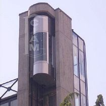 panoramic hydraulic elevator . CIAM
