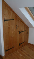 partition and ceiling inspection door OAK Broadleaf Timber