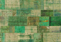 patchwork rug PATCHWORK GREEN BORALEVI SRL