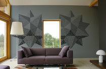 pattern non-woven wallpaper BIG STAR GAF