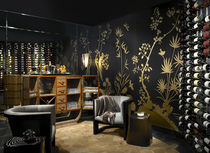 pattern silk wallpaper  Fromental