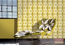 pattern wallpaper LAVMI: CU-BIQUE Vavex 1990
