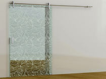patterned glass sliding door I CRISTAL PONTEVEDRESA