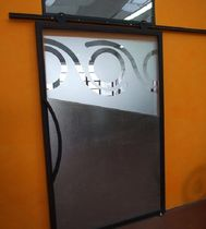patterned glass sliding door  TUTTOFARE di Andriolo Giordano