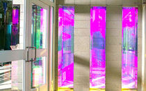 patterned laminated glass panel CUSTOM LAMINATION Central Canadian Glass Inc.