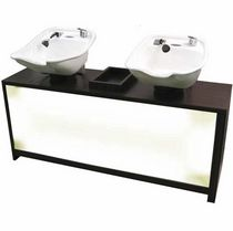 pedestal washbasin for hairdressers BELVEDERE CUSTOM: Q00843 Belvedereco
