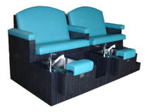 pedicure spa bench FAIRLANE II Interstate Design Industries