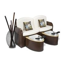 pedicure spa bench CALAIS Interstate Design Industries