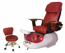 pedicure spa chair GSPA F Interstate Design Industries