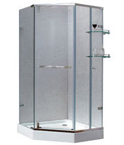 pentagonal swing shower screen AMY SERIES(95842) Suncoo