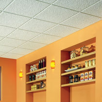 perforated acoustic ceiling tile SAVILLE ROW™ USG