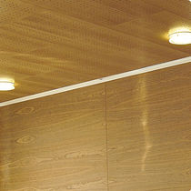 perforated acoustic wooden suspended ceiling tile PISCIS 32 SPIGOTEC - SPIGOACUSTIC - SPIGOLINE