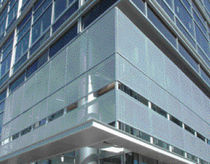 perforated aluminium solar shading  CR Laurence 
